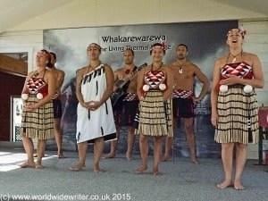 Maori cultural performance - www.worldwidewriter.co.uk