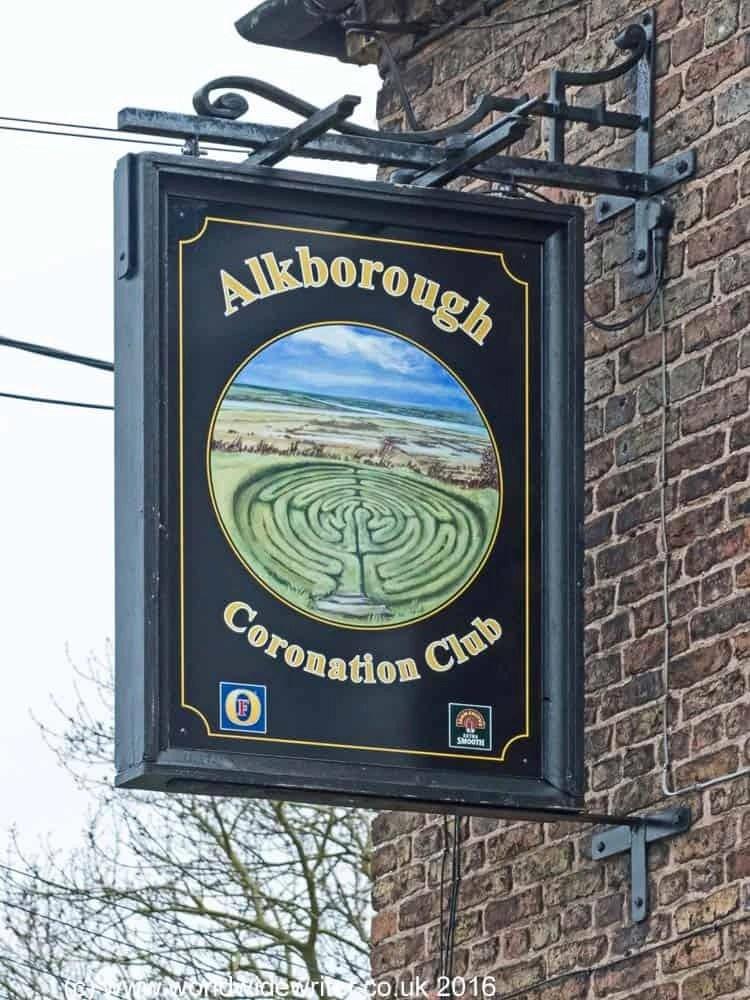Sign outside the Coronation Club