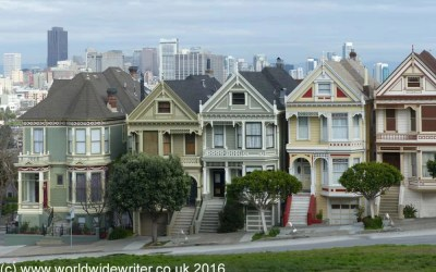 The Historic Houses of Alamo Square, San Francisco