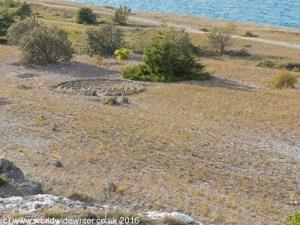 Labyrinth at Sodra Hallarna, Gotland