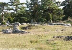 Burial site at Gålrum