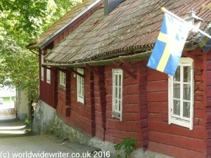 Old house in Sigtuna