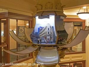 Animated clock, Old Bank Arcade, Wellington