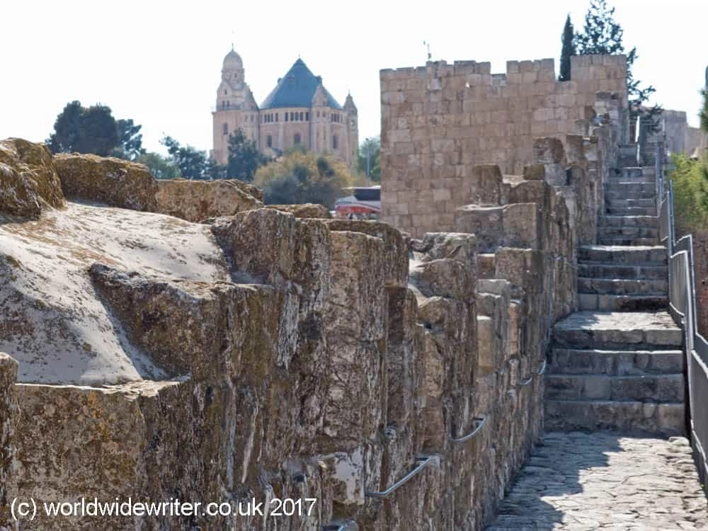 Jerusalem City Ramparts