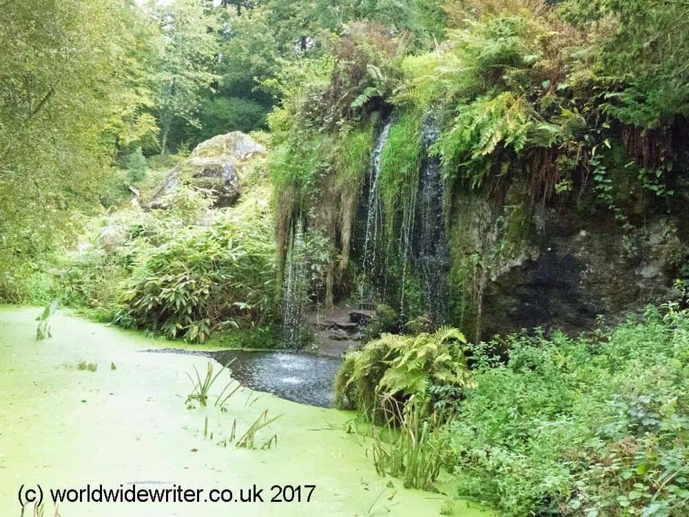 Waterfall, Blarney Castle, County Cork