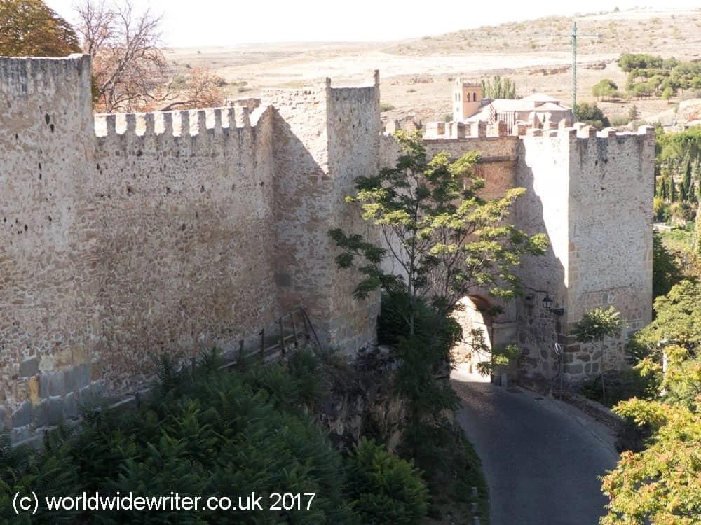 San Cebrian Gate, Segovia