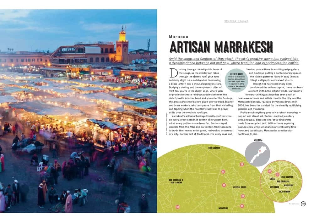 Lonely Planet Culture Trails - Marrakesh