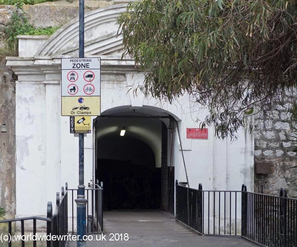 Landport Gate, Gibraltar