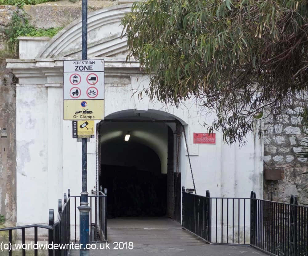 Landport Gate, Gibraltar