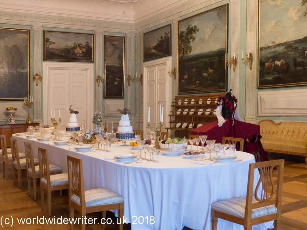 Dining room of Litomyšl Castle