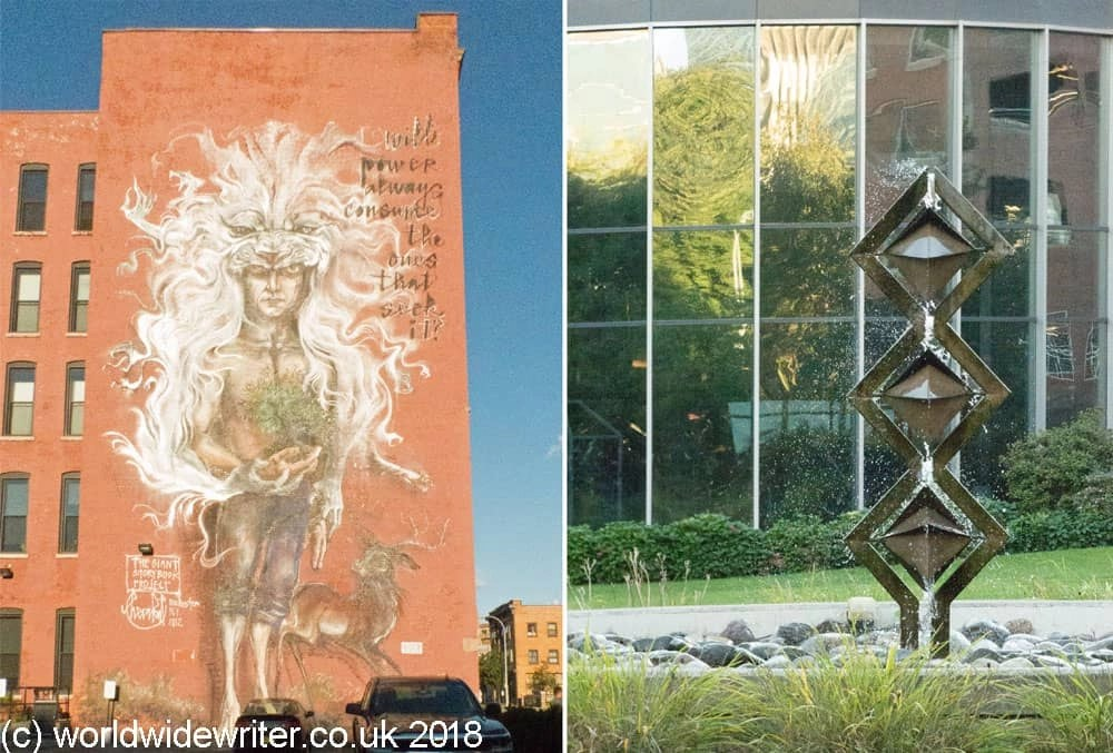 Street art and sculpture, Rochester NY