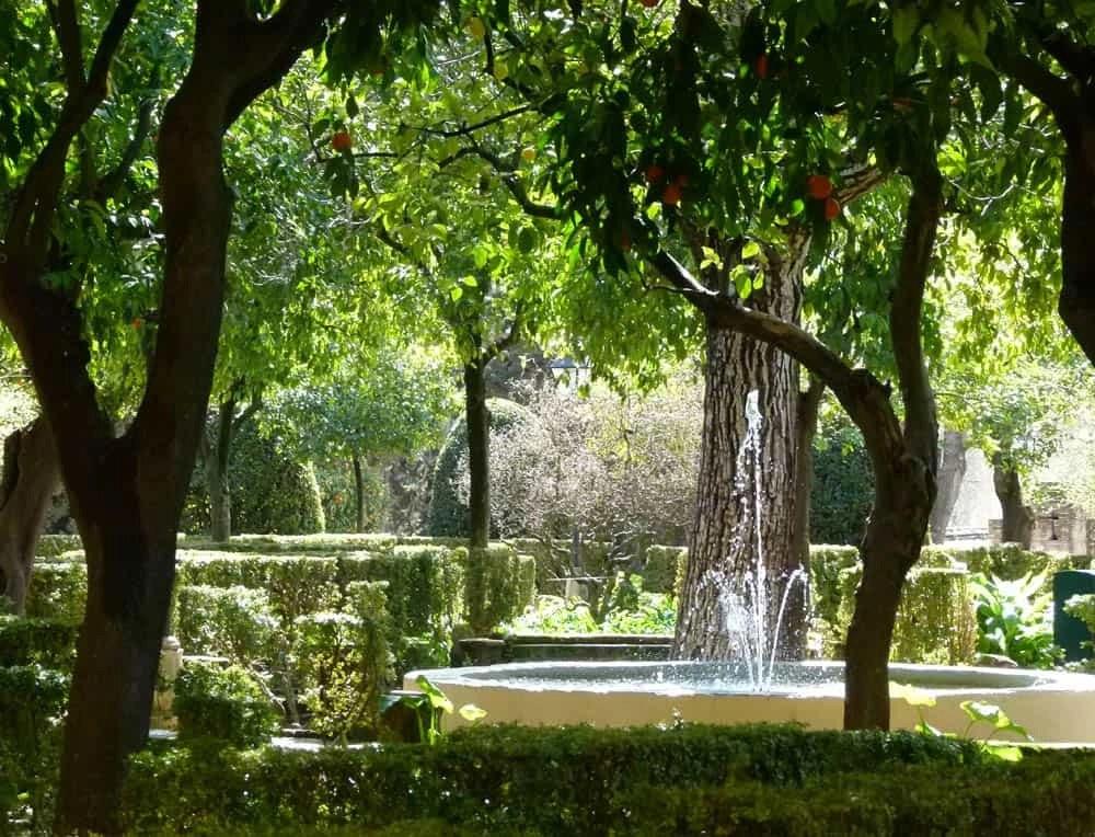 Fountains at the Alcazar of Córdoba