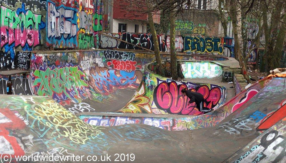 Flora Park skate park, Hamburg