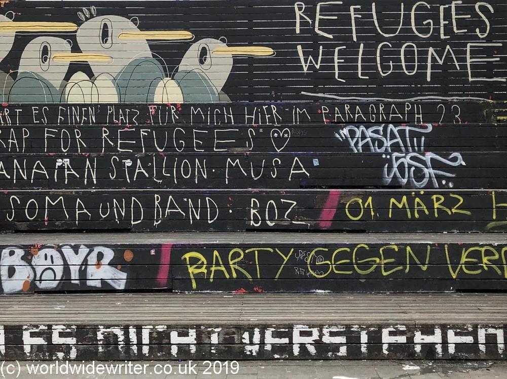 St Pauli street art