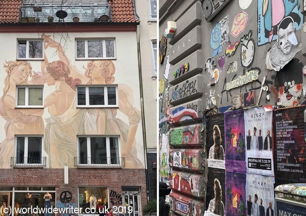 Street art, Schanzenviertel, Hamburg