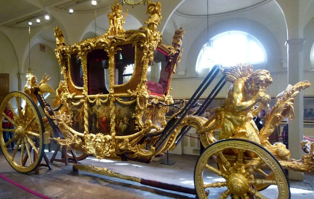Gold Stage Coach