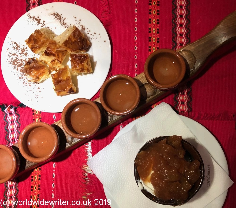 Traditional Bulgarian desserts