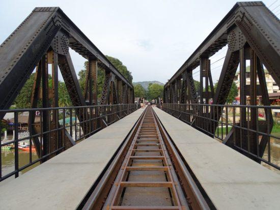 Bridge over the river kwai Kanchanaburi thailand