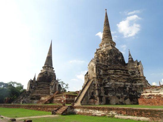 tempels ayutthaya