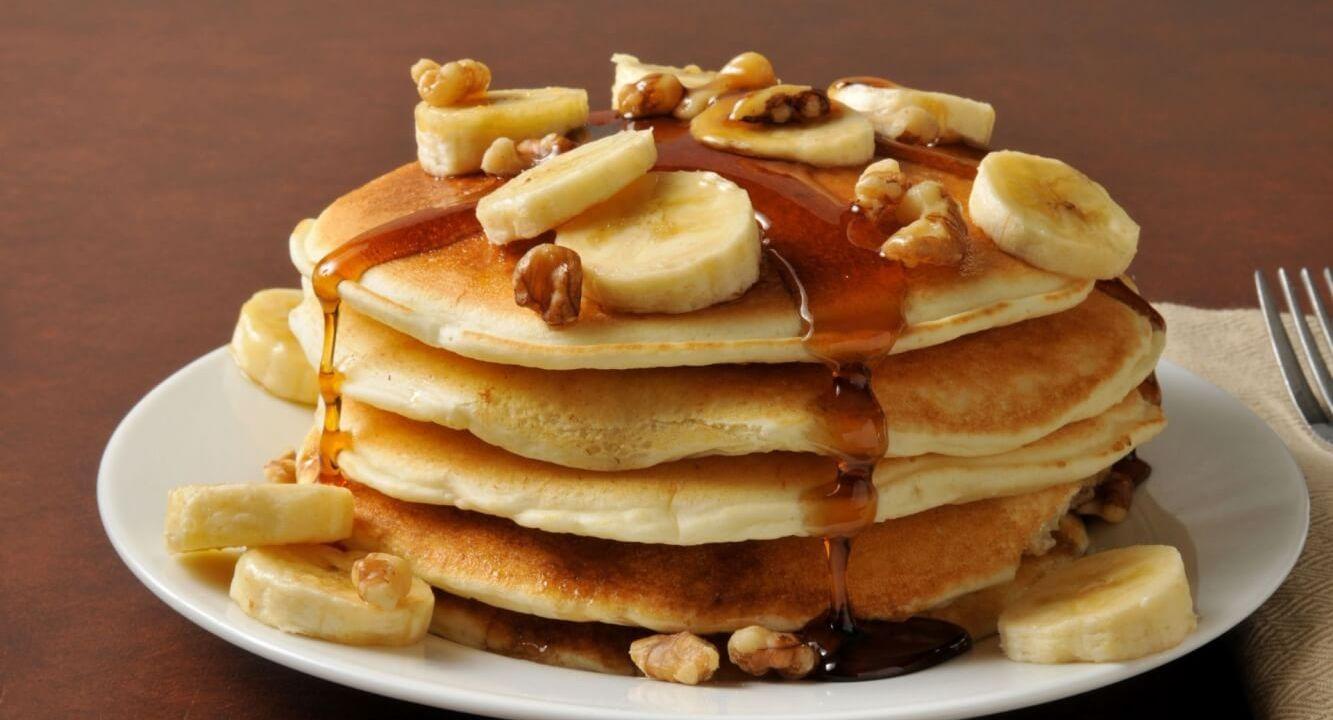 Recept voor overheerlijke banana pancakes