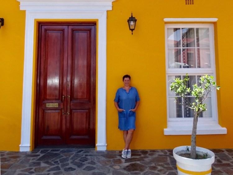Gekleurde huisjes in Bo Kaap Kaapstad