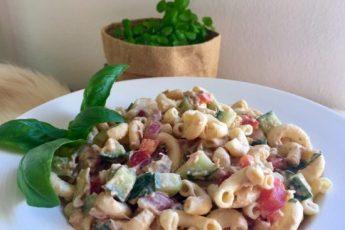 recept pastasalade