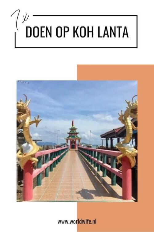 Wat te doen op Koh Lanta, Thailand