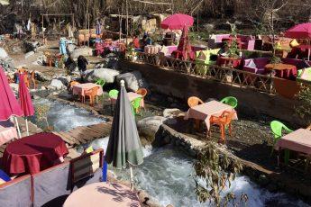 Toffe excursie vanuit Marrakech: de Ourika vallei aan de voet van het Atlasgebergte in Marokko.