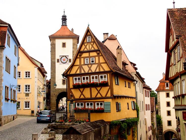 Rothenburg ab der Tauber, Romantischer Strasse, Duitsland