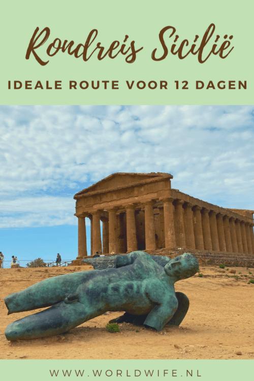 De ideale route voor een rondreis op Sicilie | Roadtrip Sicilie Italie