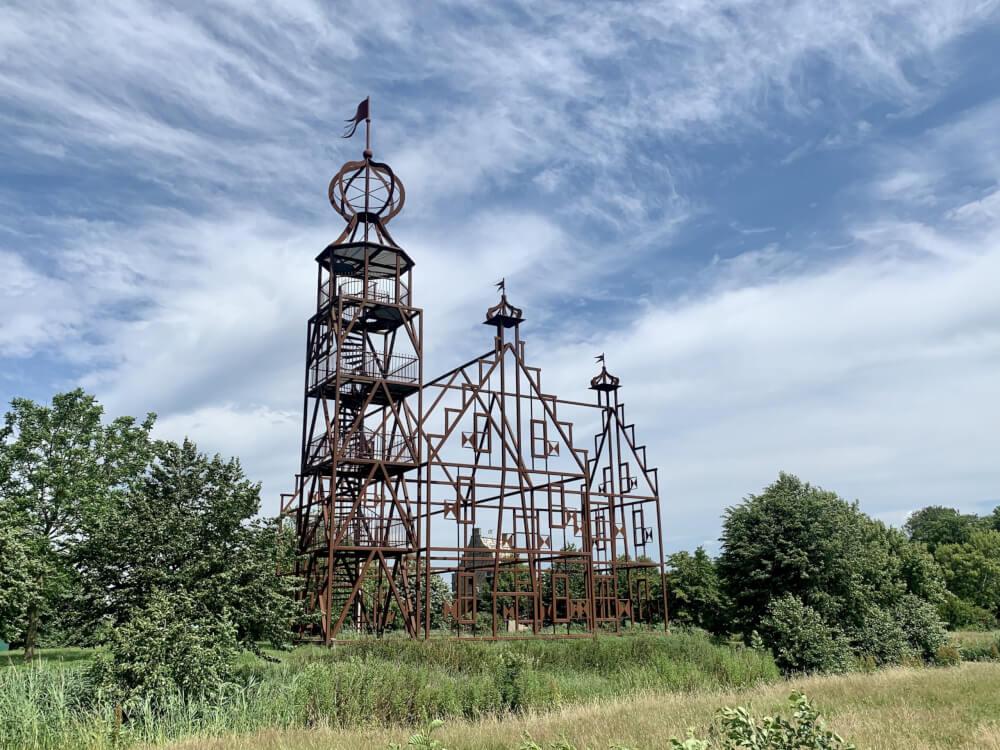 Bijzondere architectuur in Friesland: Luchtkasteel Unistate