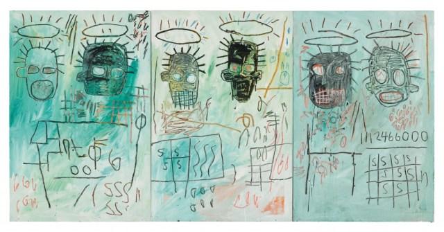 Six Crimee est l'un des oeuvres de Basquiat exposées à Bilbao cet été ©Estate of Jean-Michel Basquiat