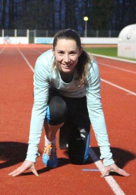 Marie-Amélie Le Fur n'occulte pas le côté mécanique du sport mais la performance de l'athlète va au-delà pour elle (Crédits Photos: Lucie Martin)