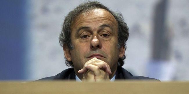 Michel Platini n'en finit pas des scandales (photo AFP)