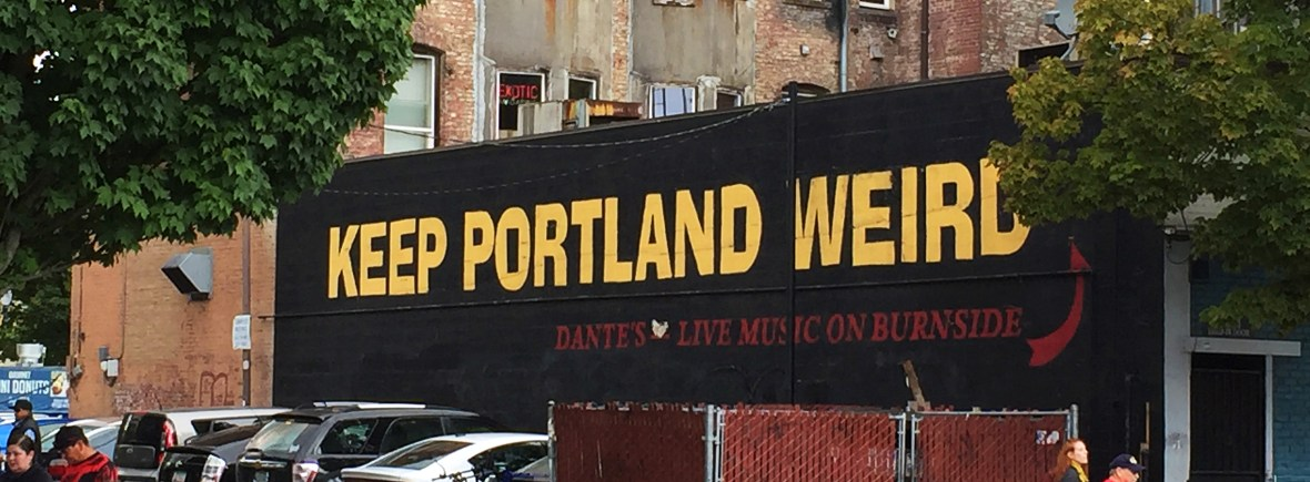 Keep Portland Weird Sign | Travel guide to visit Portland, Oregon