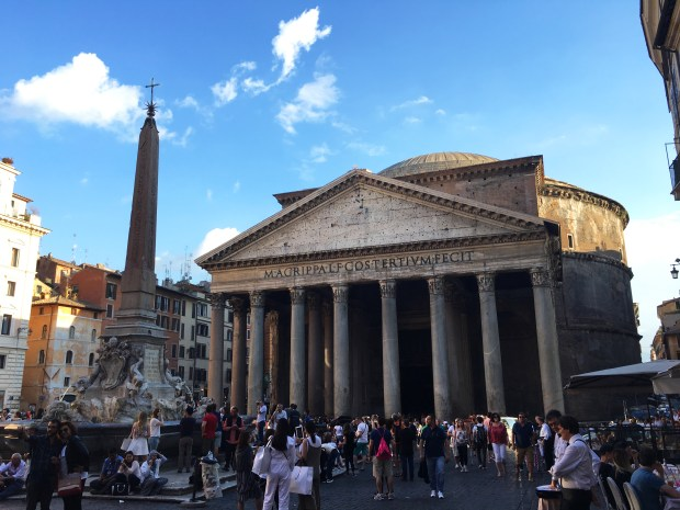 Pantheon | Rick Steve's Heart of Italy walking tour | Rome | Italy