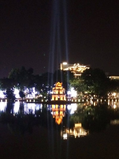 Tháp Rùa temple on Hoan Keim Lake | Hanoi | Vietnam