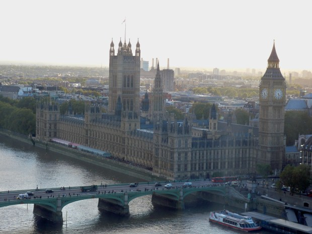 Big Ben & The Houses of Parliament | View from London Eye | London | England