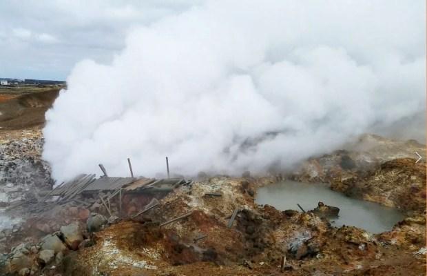 Gunnuhver Hot Springs   Reykjanes Peninsula   Iceland