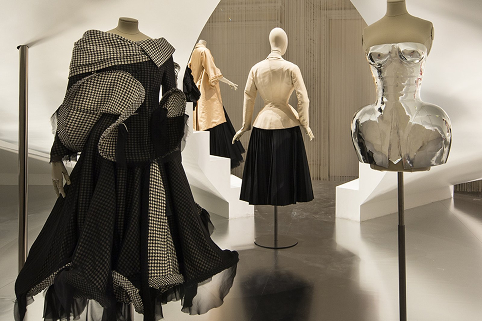 Parisian Insights  Fashion Forward     Three Centuries of Fashion     The contemporary nave