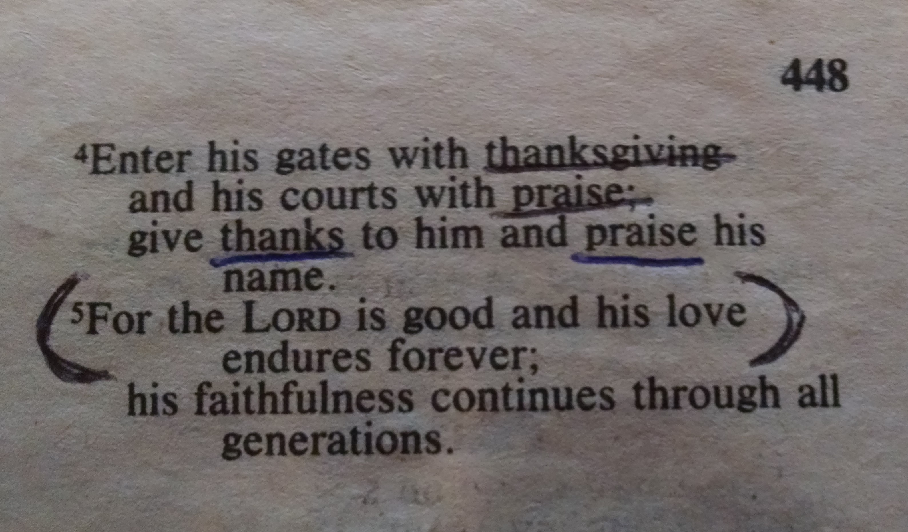 Hidden Meaning In Psalm 1004 Worship Arts Conservatory