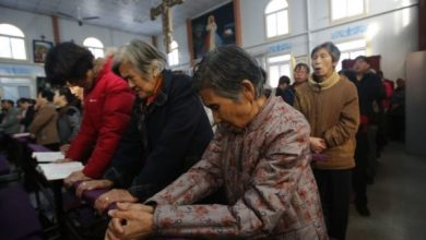 Photo of Church Leader's Wife Buried Alive by Chinese Authorities for Protesting Church Demolition