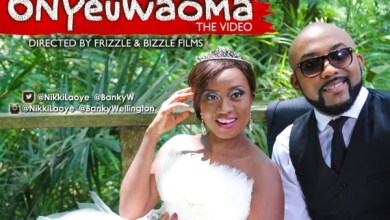 Photo of Nikki Laoye and Banky W Shoot Music Video for Love Duet – Onyeuwaoma