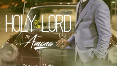 """Photo of Anticipate """"Holy is the Lord"""" by Amona @AmonaOfficial"""