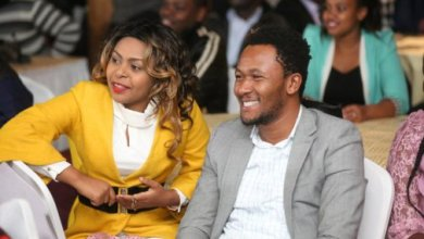 Photo of Gospel artiste Size 8 opens school