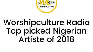 Photo of Worshipculture Radio Top Picked Nigerian Gospel Artiste Of 2018