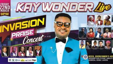 "Photo of Kay Wonder Live Concert 2019 ""INVASION PRAISE"""