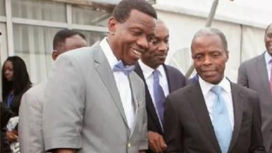 Photo of How Pastor Adeboye saved my life – Osinbajo speaks on re-election as Buhari's VP