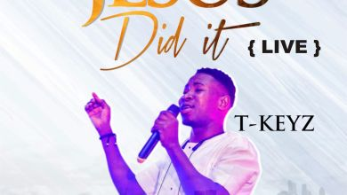 "Photo of Tkeyz Drops Brand New Single Titled ""Jesus Did It"" (Live Audio & Video)"