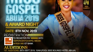 Photo of [Event] Miss Gospel Abuja 2019, Pageant